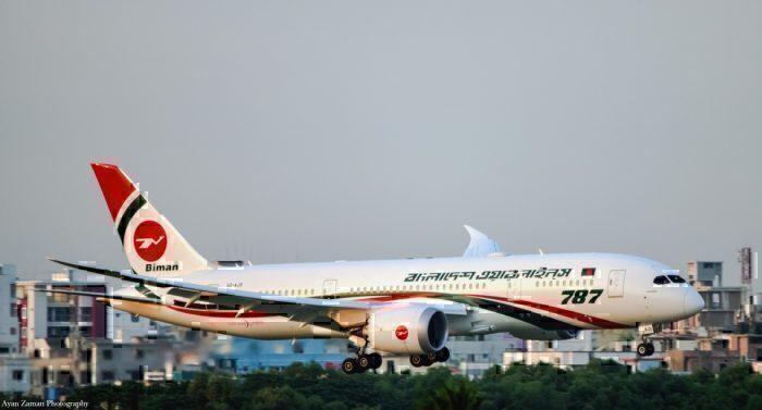 Biman Bangladesh 787-Dreamliner