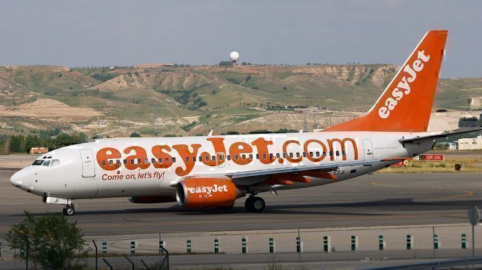 Easyjet 737-700