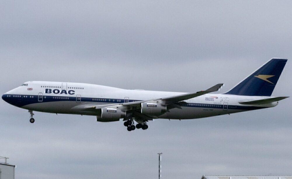 British Airways Boeing 747 BOAC