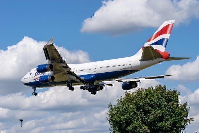 British Airways Airbus A380 New York