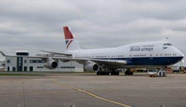 British Airways Retro Livery
