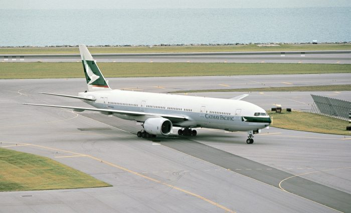 Cathay Pacific Operates Final Boeing 777-200 Service