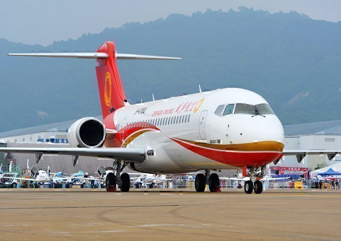 Three Chinese Airlines Place COMAC ARJ21 Orders