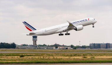 Air France, Airbus A350, Customer Acceptance