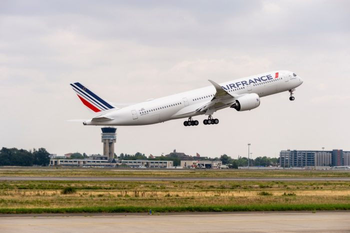 Air France, Airbus A350, First Flight