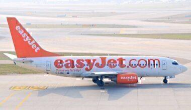 Easyjet 737