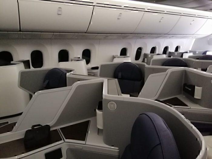 Business EgyptAir 787