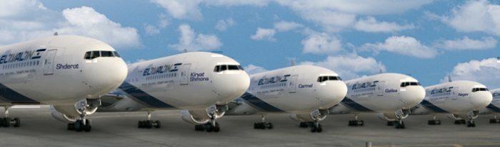 El AL Dreamliner fleet