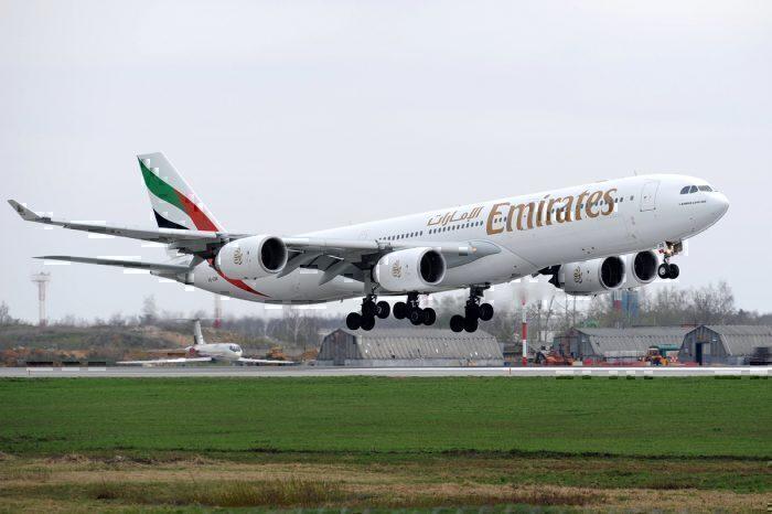 Emirates Airbus A340-500