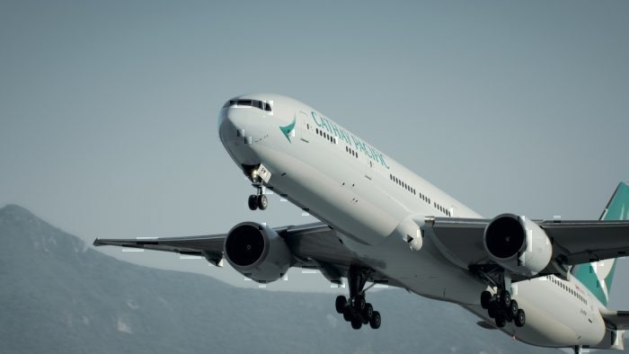Cathay Pacific 777