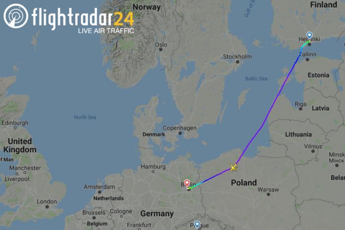 Finnair, Airbus A321, Fuel Smell