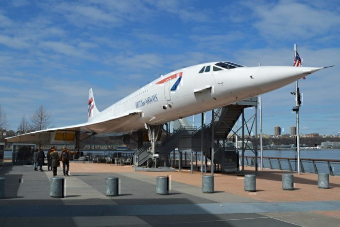 G-BOAD at the Intrepid Air and Sea Museum