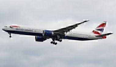 British Airways Boeing 777 Shannon Smoke