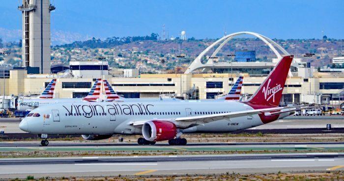 Virgin Atlantic, Airbus A350, Los Angeles