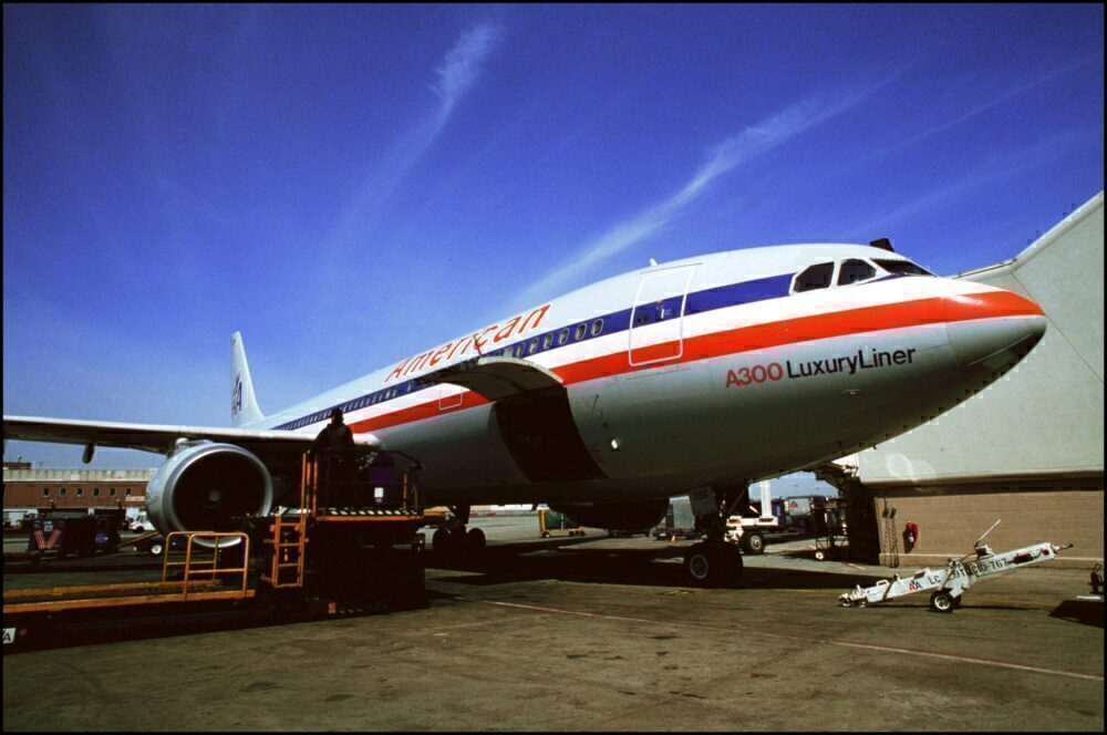 American Airlines Airbus A300
