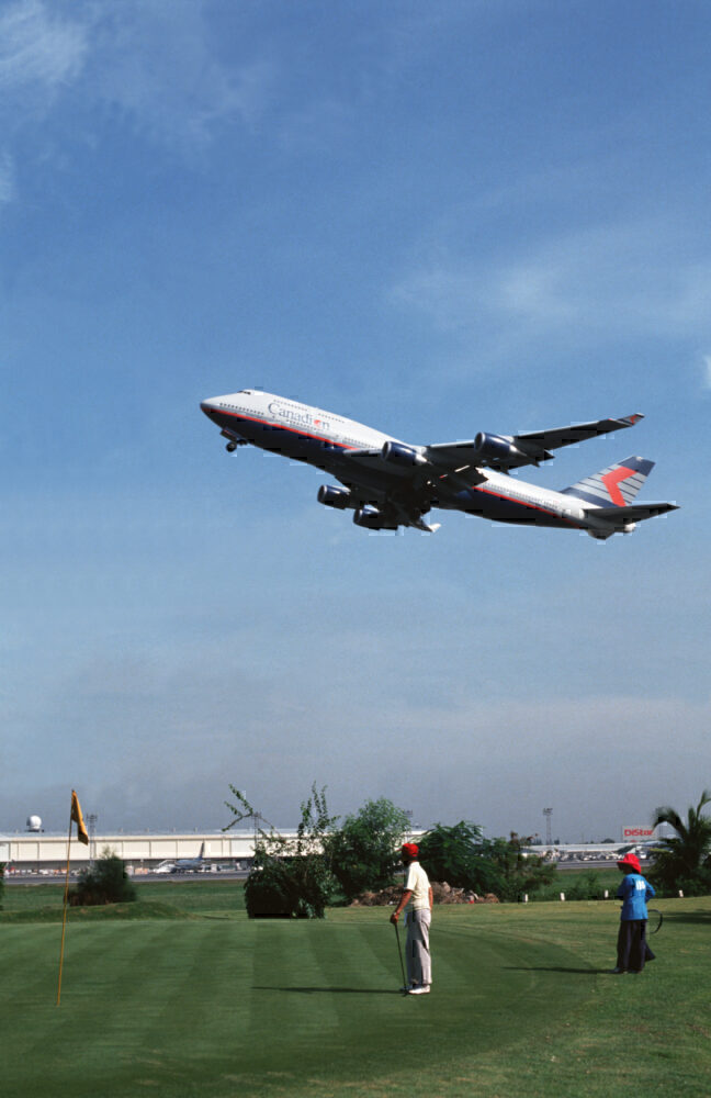 Canadian Airlines 747 Bangkok