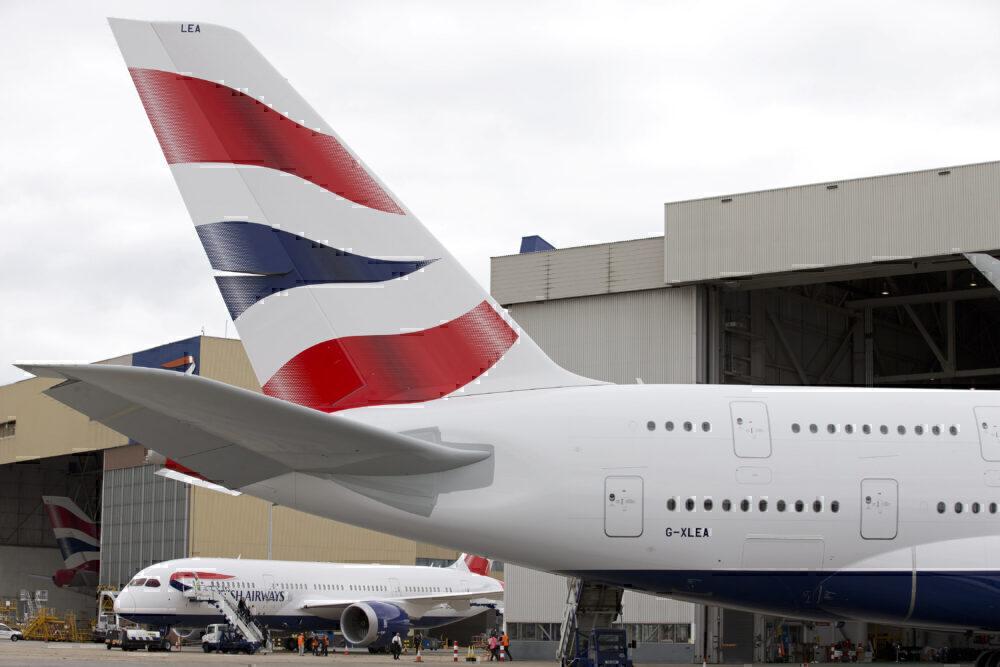 British Airways 787 & A380 Getty