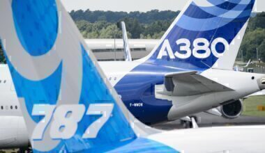 787 & A380 Getty