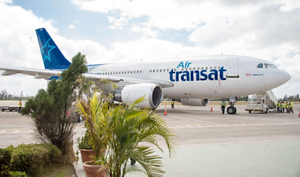 Air Transat A310 Cuba