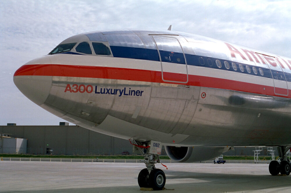 American Airlines Airbus A300 Getty