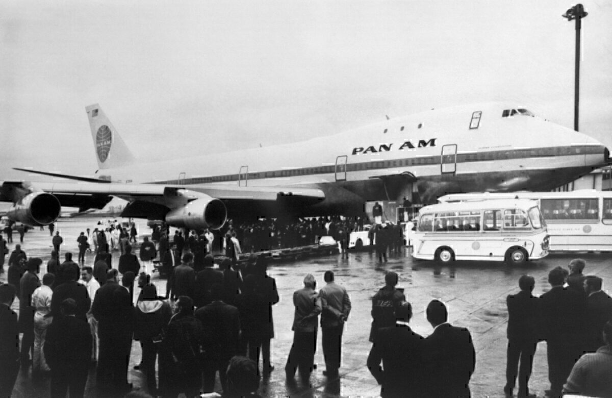 Pan Am Boeing 747 Getty
