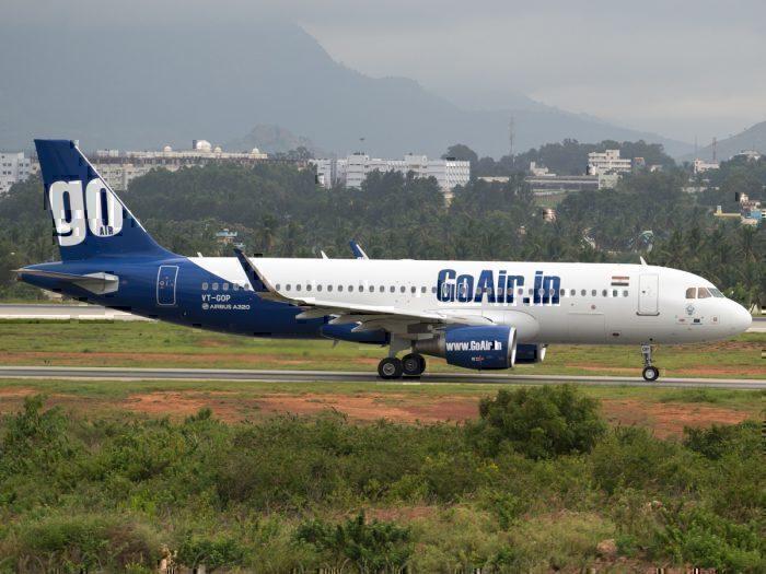GoAir Airbus A320