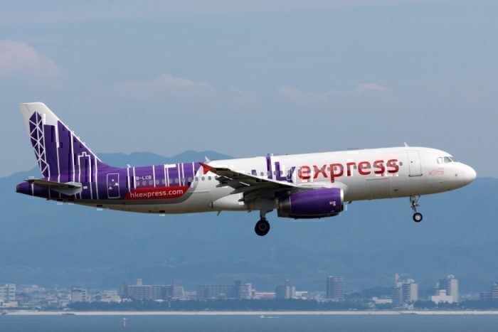 HK Express airbus A320