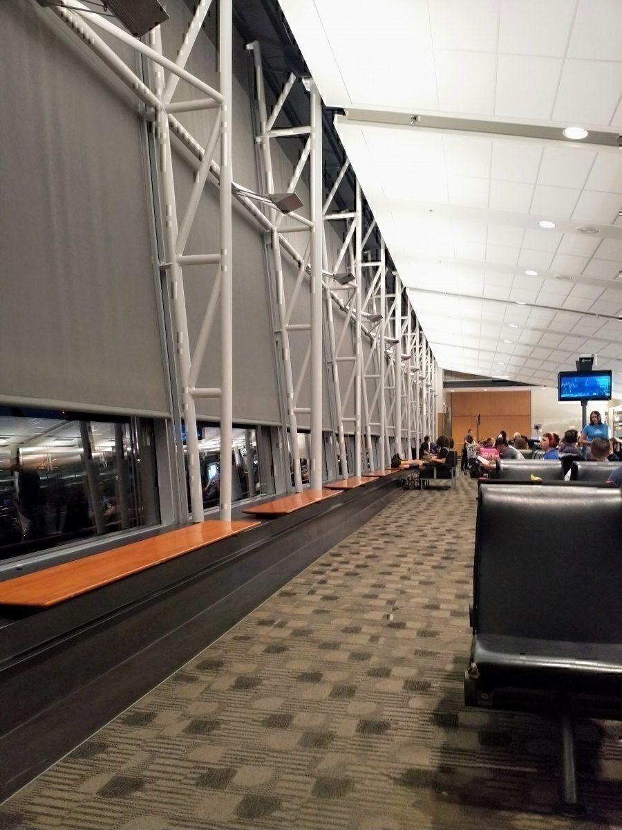 Montreal Departure Area