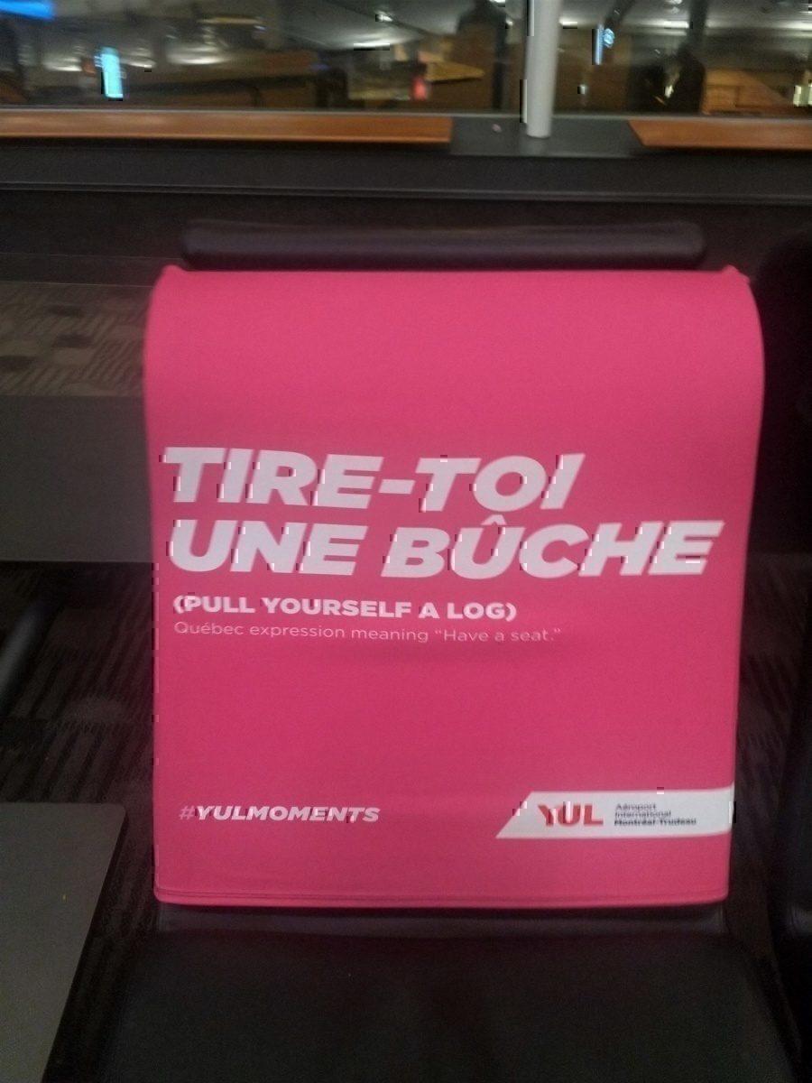 """YUL """"Tire-Toi Une Buche"""""""