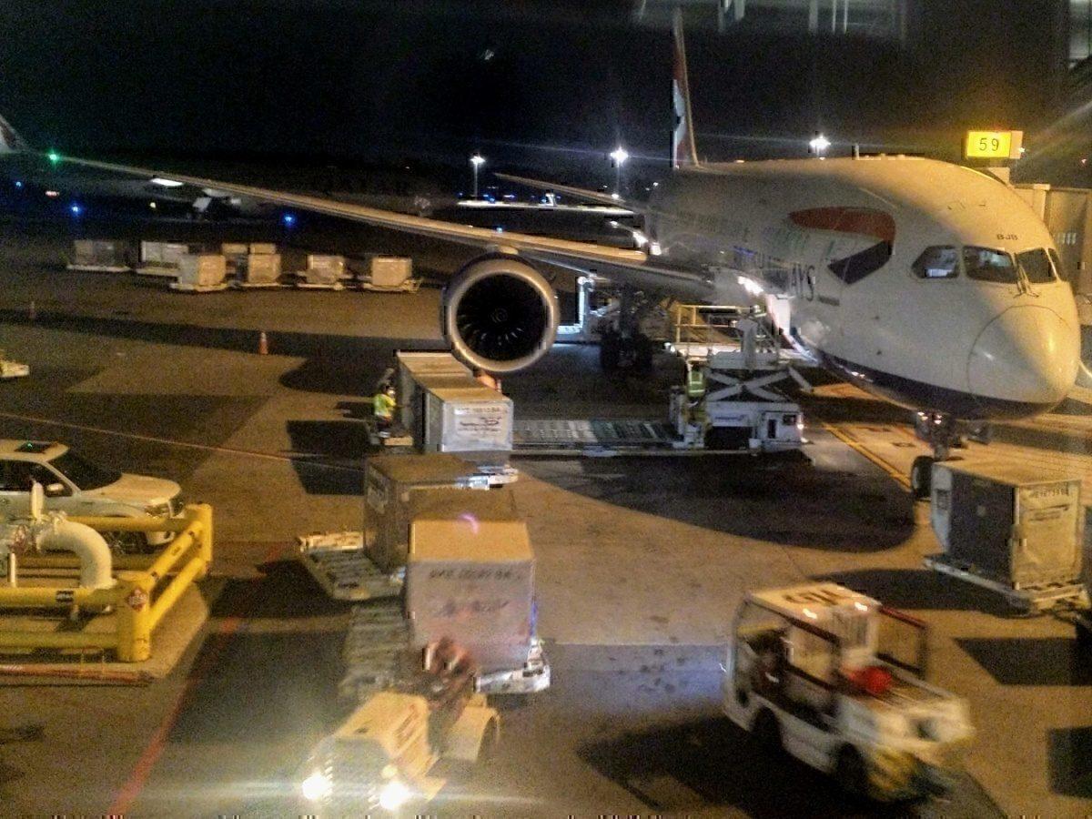 BA 787 at YUL