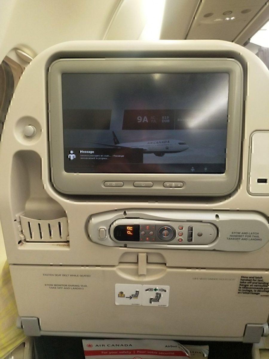 AC A330 AVOD