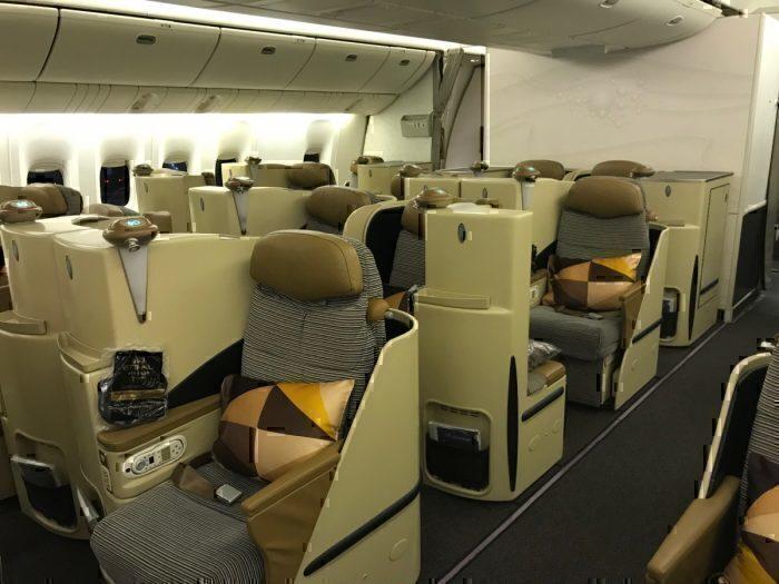 Etihad 777 J Cabin