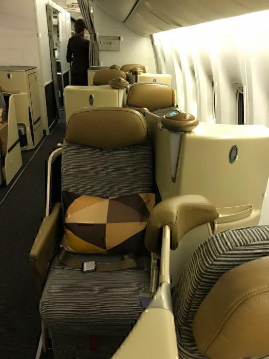 Etihad seats