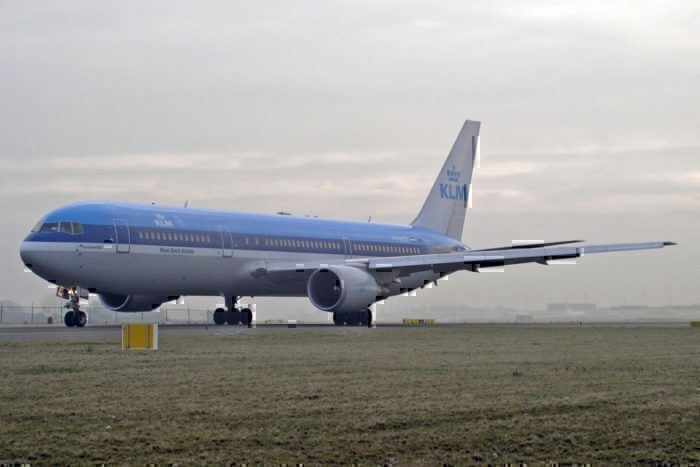 The final Boeing 767 to fly for KLM