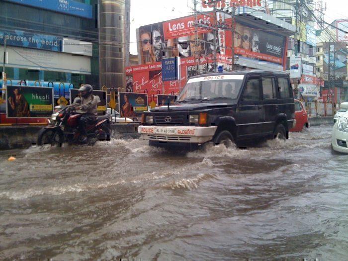 Kerala monsoon season