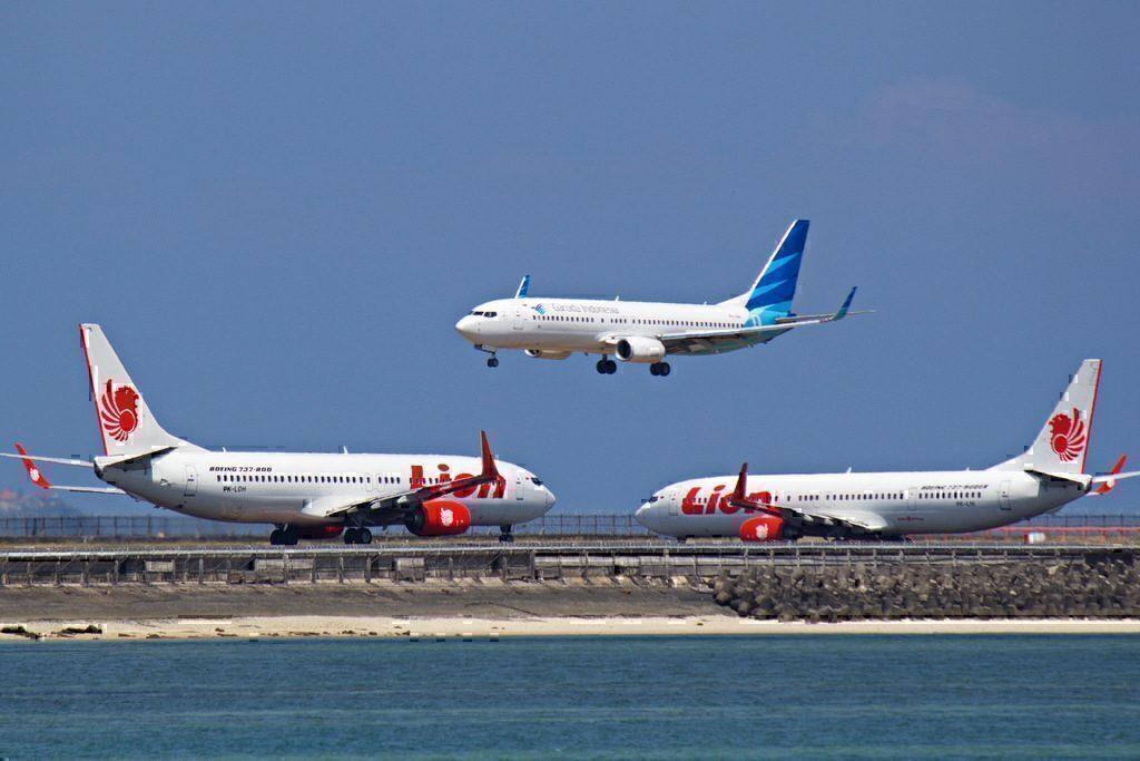 Garuda and Lion 737