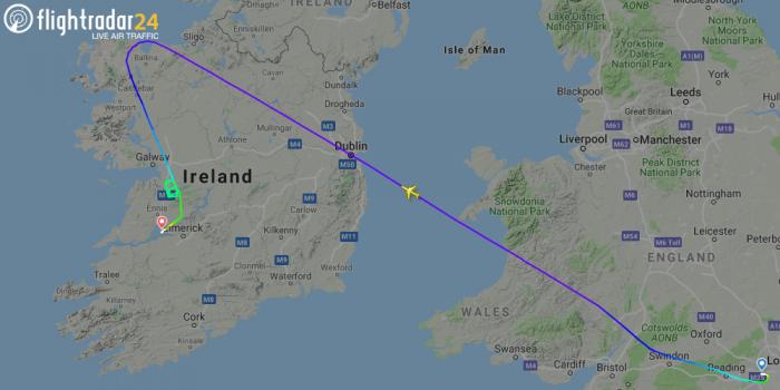 British Airways, Boeing 777, Shannon Smoke