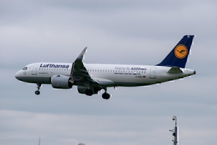 Lufthansa A320neo Special Livery
