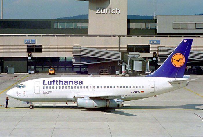 Lufthansa 737-200
