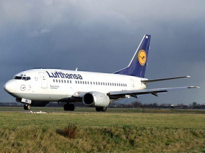Lufthansa 737-500