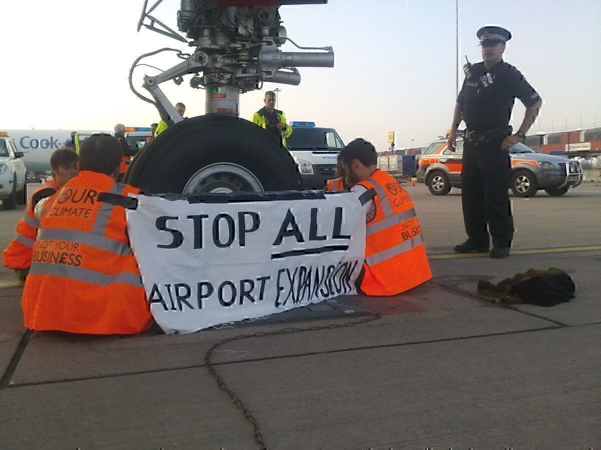Plane Stupid Airside Action