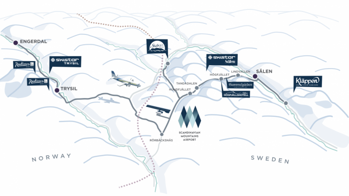 SAS To Launch New Scandinavian Mountain Service From London Heathrow