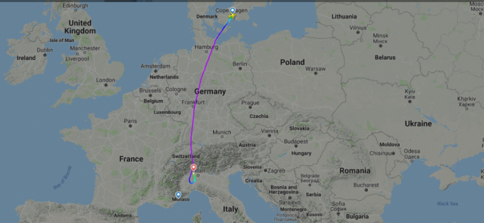 SAS Airbus A320neo Diverts To Milan With Suspected Fuel Leak ...