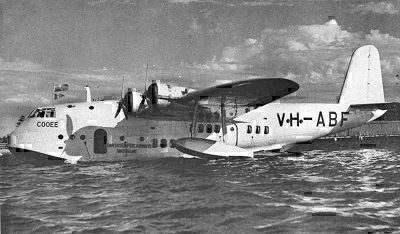 Short S23 flying boat