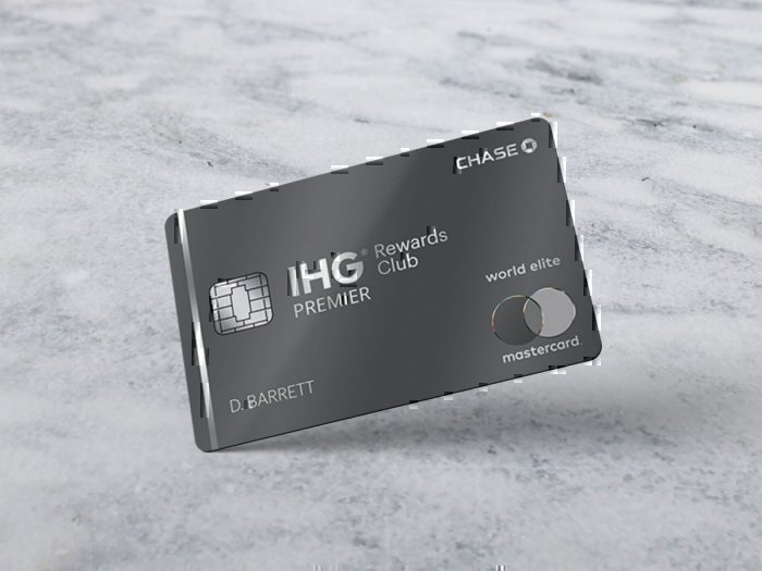 Chase IHG Rewards Club Premier card