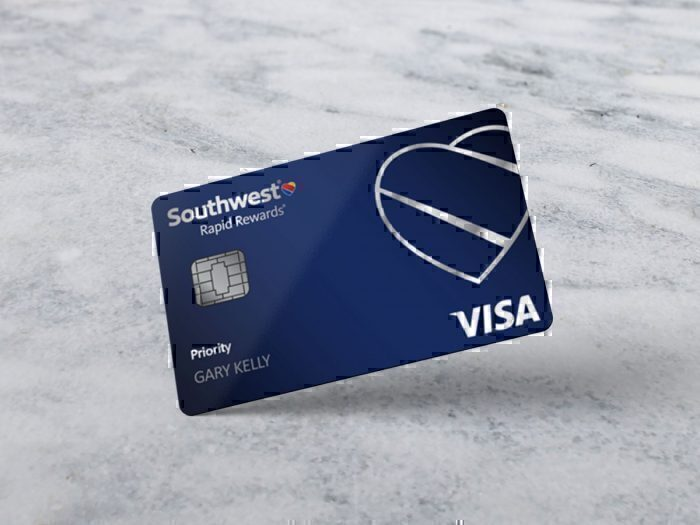 Visa Southwest Rapid Rewards Priority card