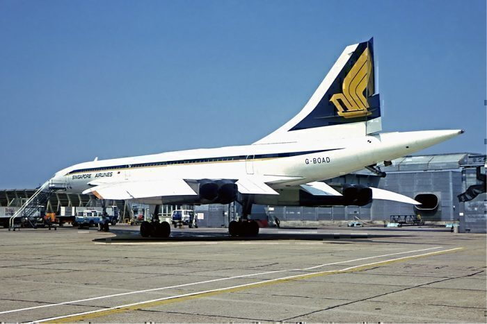 Singapore Concorde