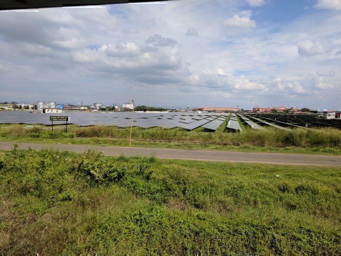 solar panels next to COK
