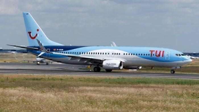 Boeing 757, Munich Airport, Tire Damage