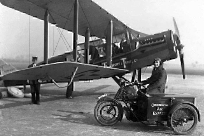 AT&T DH Aircraft